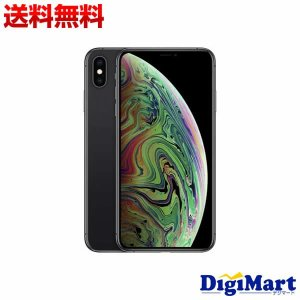 アップルAPPLE iPhone XS Max 64GB SIMフリー [スペースグレイ] MT6Q...
