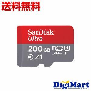 サンディスク Sandisk Ultra microSDXCカード UHS-I Class10 200GB [SDSQUAR-200G-GN6MA] 100MB/s SD変換アダプター付属 【海外パッケージ品】|digimart-shop