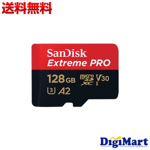 サンディスク Sandisk ExtremePRO microSDXCカード Class10 128GB [SDSQXCY-128G-GN6MA]【海外パッケージ品】|digimart-shop