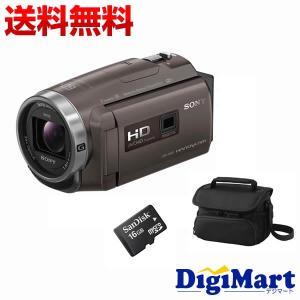 ソニー SONY HDR-PJ680 (TI) [ブロンズブラウン] ビデオカメラ + ビデオカメラバッグ + 16GB micro SDカード お買い得セット【新品・国内正規品】(HDRPJ680)|digimart-shop