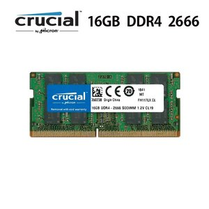 Crucial  Micron製  Mac mini 2018 メモリ 16GB DDR4  266...