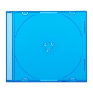 5mmスリムCDケース[PRO](1枚収納プラケース×200個)/ クリアブラック / クリアブルー / クリアグリーン|digipropak