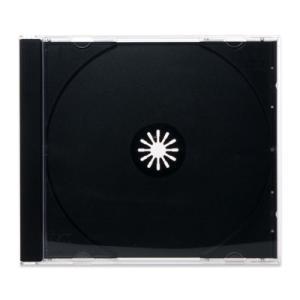CDジュエルケース(CD1枚収納プラケース×200個)/ 黒 / 白#60(ソニーホワイト系) / ロゴ無・CDロゴ|digipropak