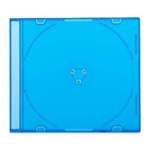 5mmスリムCDケース[PRO](1枚収納プラケース×50個)/ クリアブラック / クリアブルー / クリアグリーン|digipropak