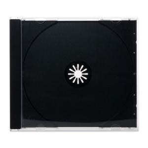 DVDジュエルケース(1枚収納プラケース×200個)/ 白 / 黒 / シボクリア / DVDロゴ digipropak