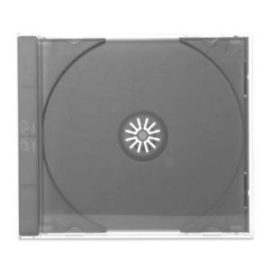 ハイグレードDVDジュエルケース(1枚収納プラケース×50個)/ グレー / DVDロゴ digipropak