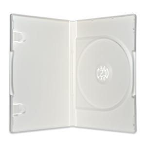 日本製ポップマンボウ1DVDケース(1枚収納トールケース×10個)/ クリア / 白 / 黒|digipropak