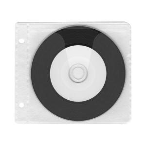 ブルーレイディスク対応不織布ケース2穴【厚手】(スリーブケース×500枚)/ 白|digipropak