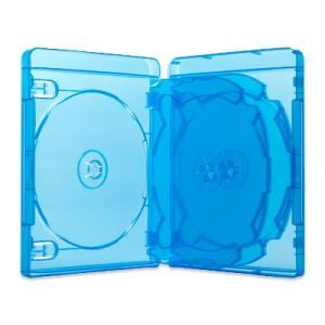 24mm6BDブルーレイケース(6枚収納プラケース×20個)/ スーパークリア / クリアブルー / ロゴ無|digipropak