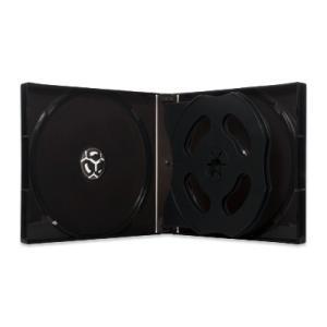 21mm6CDケースPP(6枚収納プラケース×100個)/ スーパークリア / 白 / 黒(濃灰) / ブルー / カバーフィルム付|digipropak