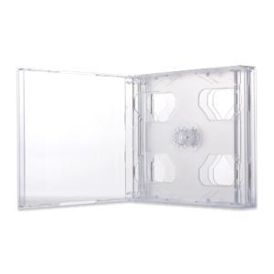 24mmマルチ6CDケース(6枚収納プラケース×100個)/ クリア|digipropak