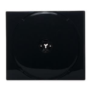 25mm8CDケースPP(8枚収納プラケース×50個)/ 白 / 黒(濃灰)  / スモークグレー / カバーフィルム付|digipropak