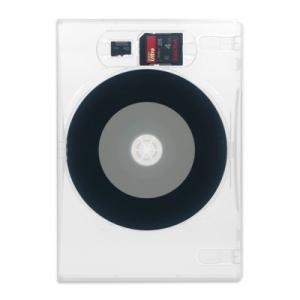 3in1DVDケース(SD,microSD,DVD各1枚収納プラケース×100個)/ スーパークリア|digipropak