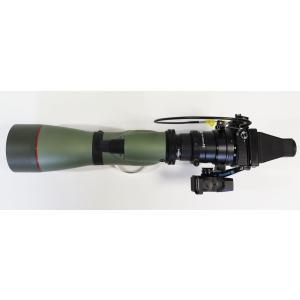 デジスコ KOWA 774/Nikon 1 V・Jシリーズ(1 NIKKOR 18.5mm f/1.8)  セットC [カメラ(レンズ)、メモリーカード、三脚、雲台、ロングプレート抜き]
