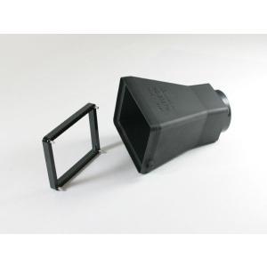 DIGISCO.COM ワイドSCレンズ採用3倍ルーペ付液晶フード HD-2027W|digisco-ya|02