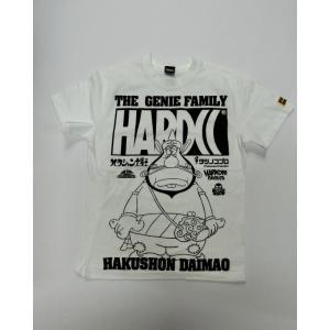 ハクション大魔王 (呼ばれて飛び出てジャジャジャジャーン! ホワイト) ハードコアチョコレート Tシャツ|digit