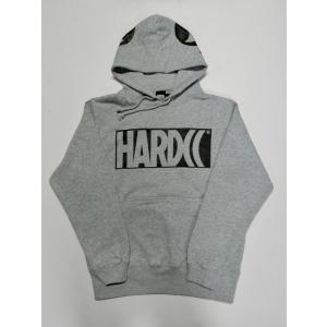 HARDCC ベーシックロゴ プルオーバーパーカー 20春EDITION (モルタルミックスグレー) ハードコアチョコレート|digit