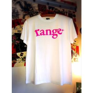 range black light print logo s/s T レンジ Tシャツ Tee|digit