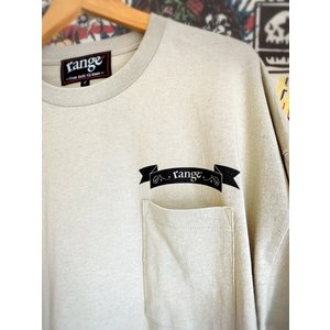 range over size pocket T レンジ Tシャツ|digit|02