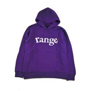 range logo pull over hoody レンジ パーカー|digit