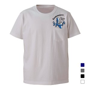 SANTAMONICA shark out of pocket tee サンタモニカ Tシャツ|digit