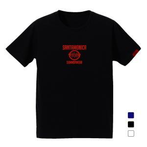 SANTAMONICA EMB logo tee サンタモニカ Tシャツ|digit