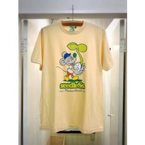 seedleSs stoned rat s/s tee シードレス Tシャツ|digit