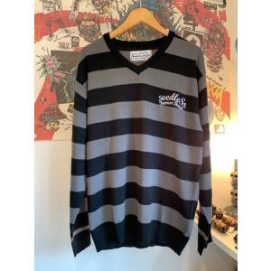 seedleSs Vneck sweater シードレス セーター|digit
