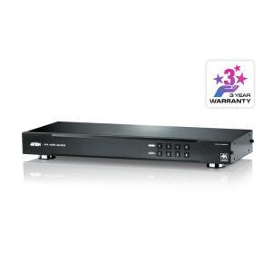 4入力4出力 【送料無料】 【在庫目安:お取り寄せ】 ATEN VM0404HA 4K対応 HDMIマトリックスビデオスイッチ