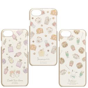 フラワーリング iphone se2/8/7/6s サンリオキャラクターズ ゴールドラメケース リト...