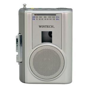 WINTECH ウインテック ラジオ付テープレコーダー PCT-02RM