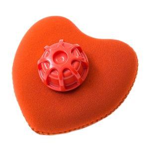 クロッツ やわらか湯たんぽ ハート型タイプミニ オレンジ CLO'Z HY-619-OR digital7