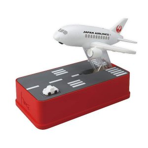 シャイン 飛行機貯金箱 JAL Ver. JALバージョン トリック貯金箱|digital7