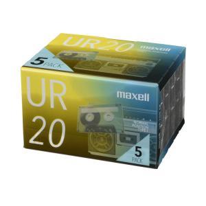 マクセル オーディオカセットテープ 20分 5巻パック maxell UR-20N 5P パッケージリニューアル品 digital7