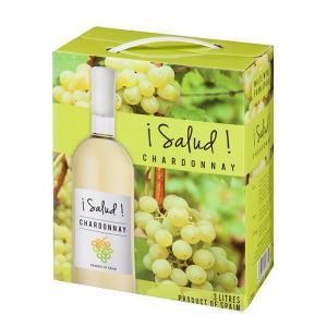 サルー シャルドネ  ボックスワイン 3L  BIB スペインワイン バッグインボックス 白ワイン|digital7