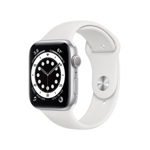新品 Apple Watch Series 6 GPSモデル 44mm M00D3J/A ホワイトス...