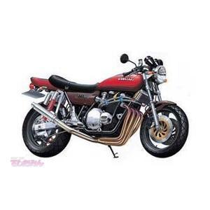 アオシマ 1/12 Kawasaki 750RS ZII スーパーカスタム プラモデル バイク No.6(D0598)