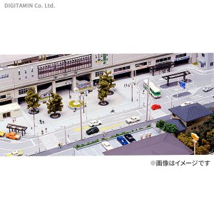 23-411 カトー KATO 駅前道路セット  ジオタウンをスタートするのに最適な駅前広場・バスタ...