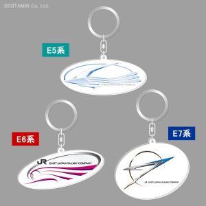 ケンエレファント 新幹線ロゴ アクリルキーホルダー 3種セット (N6458)|digitamin