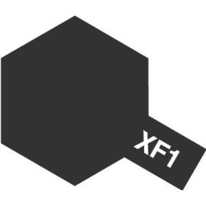 タミヤ エナメル塗料 XF-1 フラットブラック(つや消し)  エナメル塗料は乾燥が遅く、筆塗りでも...