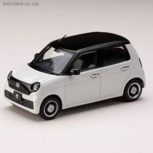 ホビージャパン 1/43 ホンダ N-ONE (2020) ホワイト/ブラック ミニカー HJ431...