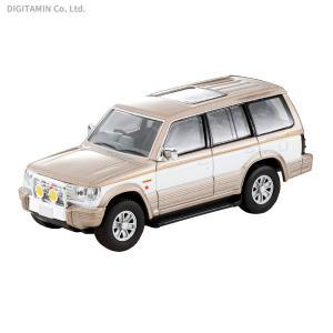 トミーテック 1/64 LV-N189c 三菱パジェロ スーパーエクシード(ベージュ/白) ミニカー...