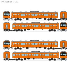 送料無料◆セット販売 トミーテック 鉄道コレクション JR201系中央線快速 H4編成 6両セット+...