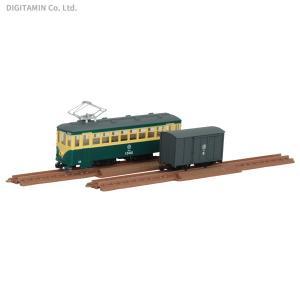 トミーテック 鉄道コレクション ナローゲージ80 猫屋線直通用路面電車+貨車セット 1/80スケール...