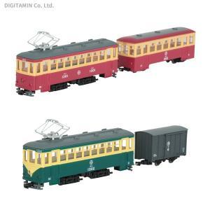 セット販売 トミーテック 鉄道コレクション ナローゲージ80 猫屋線直通用路面電車+客車セット / ...