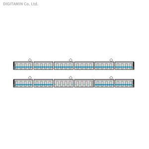 送料無料◆セット販売 鉄道コレクション 名古屋市交通局 鶴舞線 3050形 6両セット+3050形 ...