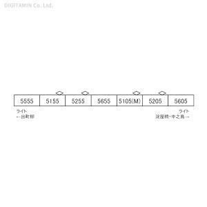 送料無料◆A6875 マイクロエース 京阪電車 5000系 3次車 リニューアル車 新塗装 7両セット Nゲージ 鉄道模型 【未定予約】 digitamin