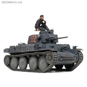 タミヤ 1/35 ミリタリーミニチュアシリーズ No.369 ドイツ軽戦車38(t)E/F型 プラモ...