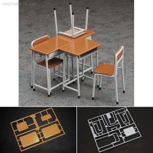 ハセガワ 1/12 学校の机と椅子 FA01 プラモデル(Z7349) digitamin
