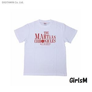 SFTシャツ 火星年代記・白 GirlsM◆ネコポス送料無料(ZB56008) digitamin